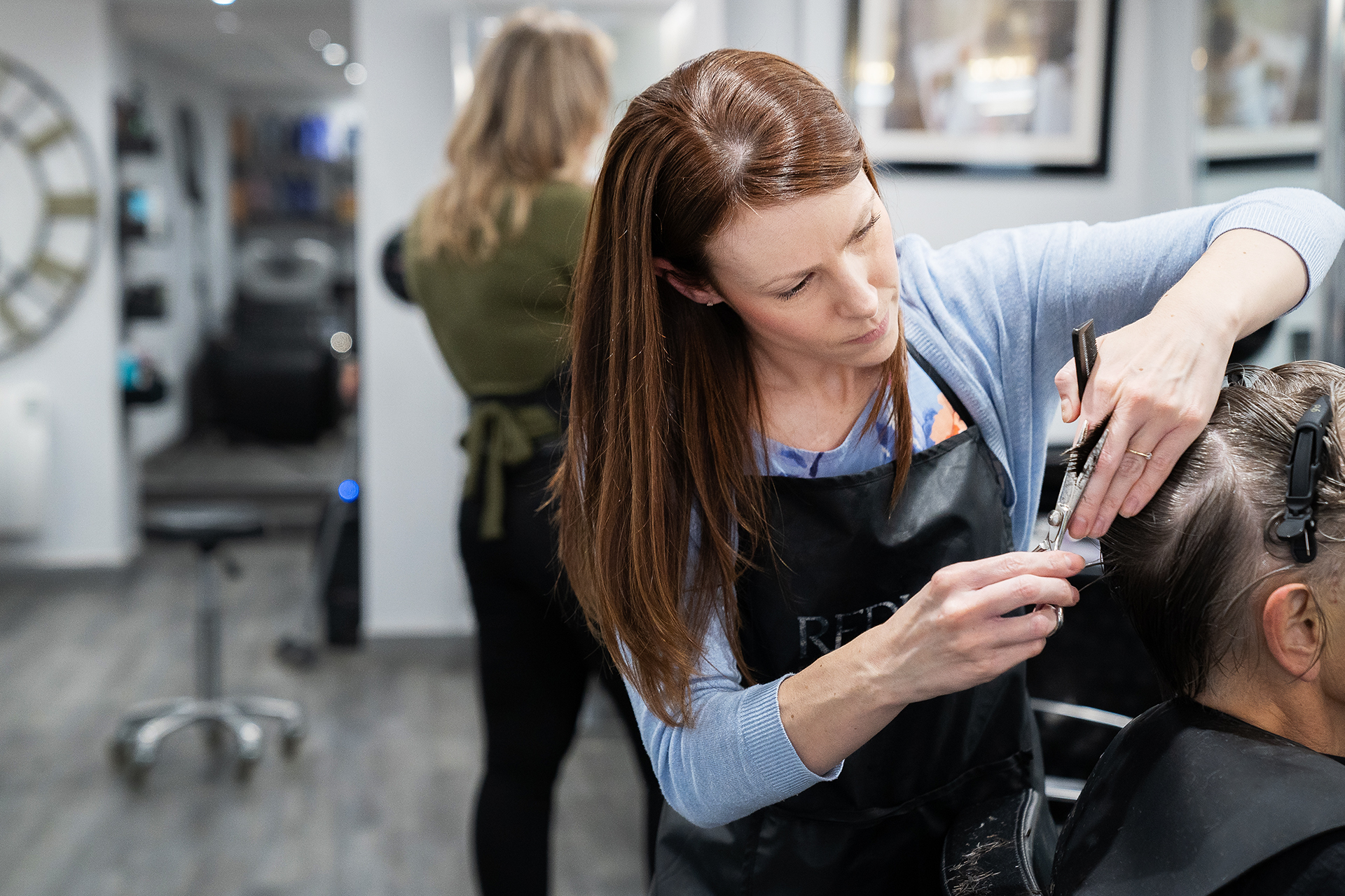 Laura Sutton Styling hair